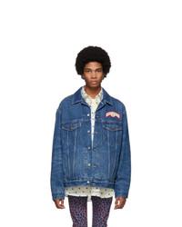 Giacca di jeans blu scuro di Gucci