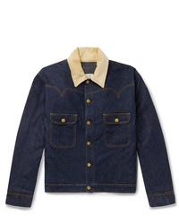 Giacca di jeans blu scuro di Holiday Boileau