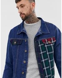 Giacca di jeans blu scuro di Liquor N Poker