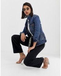 Giacca di jeans blu scuro di Miss Sixty