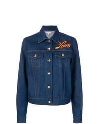 Giacca di jeans blu scuro di Olympia Le-Tan