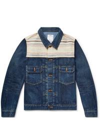 Giacca di jeans blu scuro di VISVIM