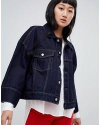 Giacca di jeans blu scuro di Weekday