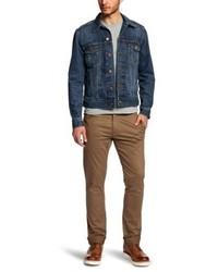 Giacca di jeans blu scuro di Wrangler