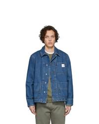 Giacca di jeans blu di A.P.C.