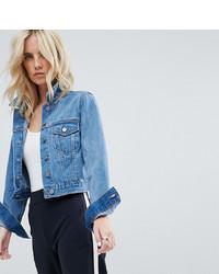 Giacca di jeans blu di Asos Petite