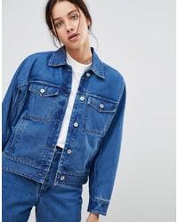 Giacca di jeans blu di KOWTOW