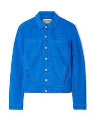 Giacca di jeans blu di L'Agence