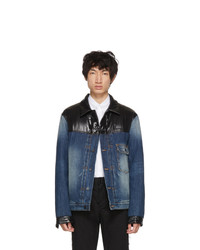 Giacca di jeans blu di Moncler Genius
