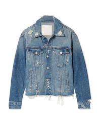 Giacca di jeans blu di Mother