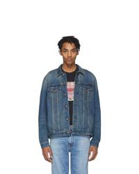 Giacca di jeans blu di Nudie Jeans