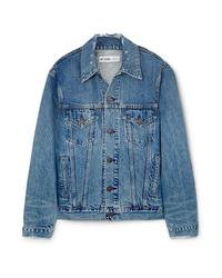 Giacca di jeans blu di RE/DONE