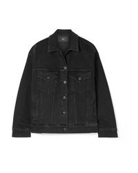 Giacca di jeans nera di 3x1