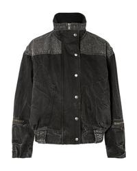Giacca di jeans nera di Givenchy