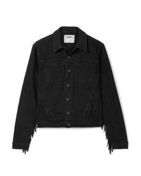 Giacca di jeans nera di L'Agence