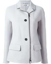 Giacca di lana bianca di Jil Sander