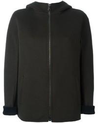 Giacca di lana verde scuro di Jil Sander