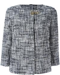 Giacca di tweed grigia di Fay