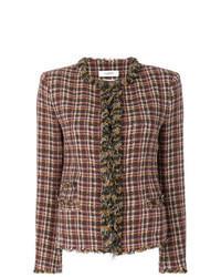 Giacca di tweed marrone