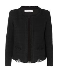 Giacca di tweed nera di IRO