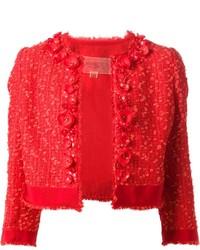 new style 8bfb9 6973e Giacche di tweed rosse da donna | Moda donna | Lookastic