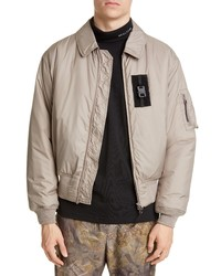 Giacca harrington beige