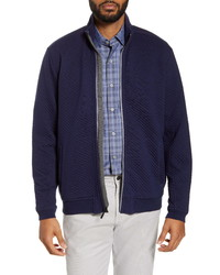 Giacca harrington blu scuro