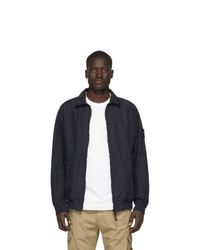 Giacca harrington blu scuro di Stone Island