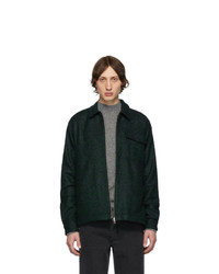 Giacca harrington verde scuro