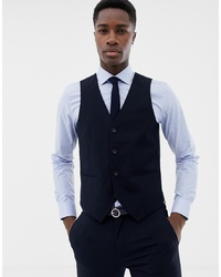 Gilet blu scuro di ONLY & SONS