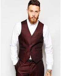 Come indossare e abbinare bretelle bordeaux (14 outfit