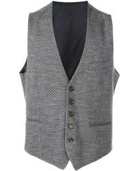 Gilet di lana grigio di Eleventy