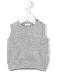 Gilet di lana grigio di Il Gufo