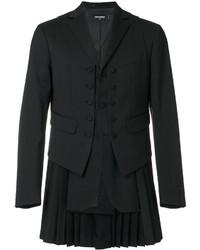 Gilet di lana nero di DSQUARED2