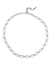 Girocollo decorato argento