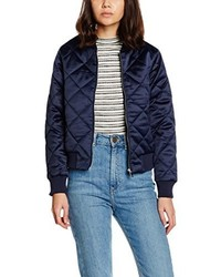Giubbotto bomber blu scuro di New Look