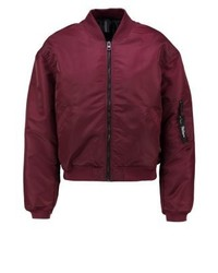 Giubbotto bomber bordeaux di Brooklyn's Own by Rocawear