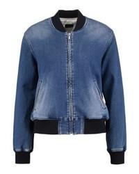 Giubbotto bomber di jeans blu di Pepe Jeans