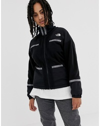 Giubbotto bomber di pile nero di The North Face