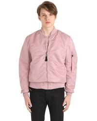 Giubbotto bomber rosa