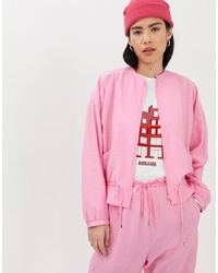 Giubbotto bomber rosa di Mads Norgaard