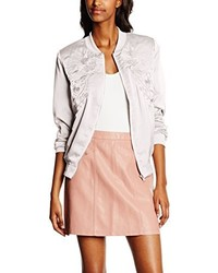 Giubbotto bomber rosa di New Look