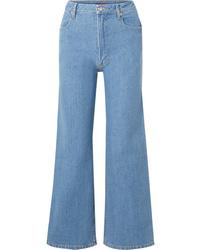 Gonna pantalone blu di Eckhaus Latta