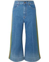 Gonna pantalone blu di Gucci