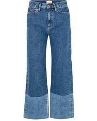 Gonna pantalone blu di SIMON MILLE