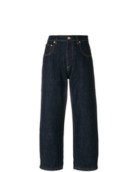 Gonna pantalone di jeans blu scuro di Carven