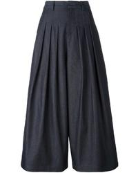 Gonna pantalone di jeans blu scuro di McQ by Alexander McQueen