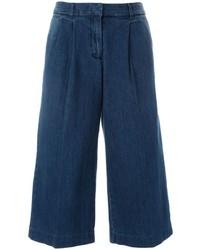 Gonna pantalone di jeans blu scuro di MICHAEL Michael Kors