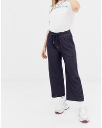 Gonna pantalone di jeans blu scuro di Noisy May
