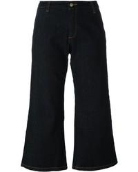 Gonna pantalone di jeans blu scuro di P.A.R.O.S.H.